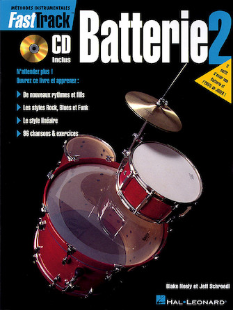 Product Cover for FastTrack Drum Method – Book 2 – French Edition