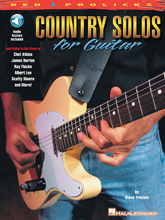 Product Cover for Country Solos for Guitar