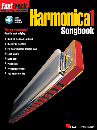 Product Cover for FastTrack Harmonica Songbook – Level 1