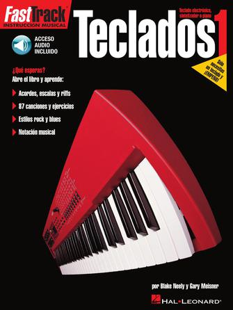 Product Cover for FastTrack Keyboard Method – Spanish Edition – Book 1
