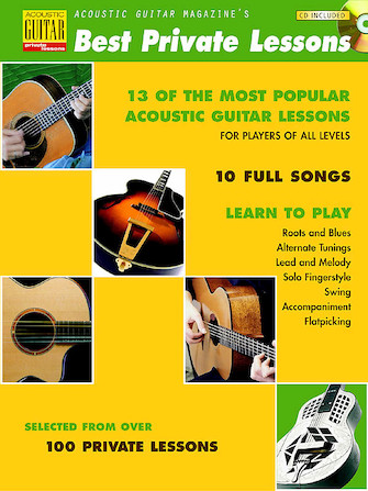 Product Cover for Acoustic Guitar Magazine's Best Private Lessons