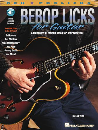 Product Cover for Bebop Licks for Guitar