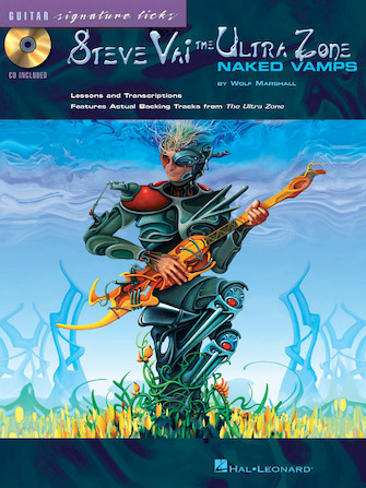 Product Cover for Steve Vai – The Ultra Zone: Naked Vamps