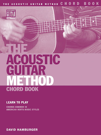 Product Cover for The Acoustic Guitar Method Chord Book