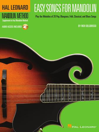 Product Cover for Easy Songs for Mandolin