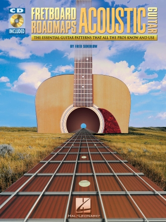 Product Cover for Fretboard Roadmaps for Acoustic Guitar