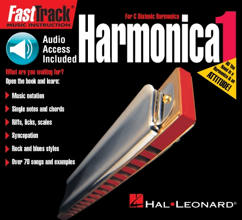 Product Cover for FastTrack Mini Harmonica Method Book 1