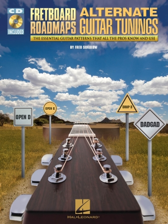 Product Cover for Fretboard Roadmaps – Alternate Guitar Tunings