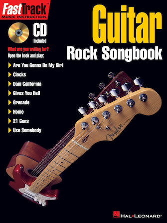Product Cover for FastTrack Guitar Rock Songbook