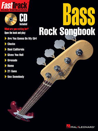 Product Cover for FastTrack Bass Rock Songbook