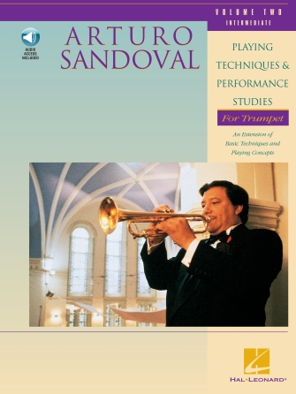 Product Cover for Arturo Sandoval – Playing Techniques & Performance Studies for Trumpet - Volume 2 (Intermediate)