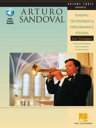 Product Cover for Arturo Sandoval – Playing Techniques & Performance Studies for Trumpet – Volume 3 (Advanced)
