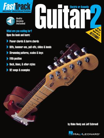 Product Cover for FastTrack Guitar Method – Book 2