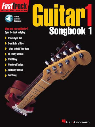 Product Cover for FastTrack Guitar Songbook 1 – Level 1