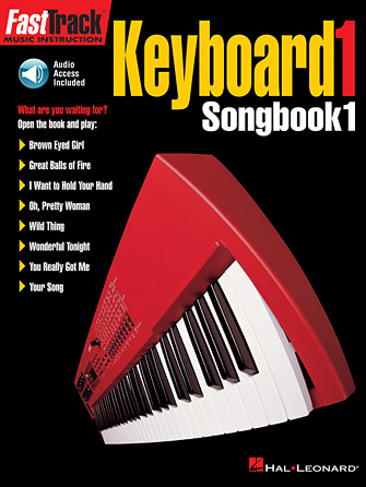 Product Cover for FastTrack Keyboard Songbook 1 – Level 1