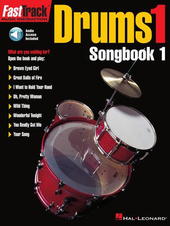 Product Cover for FastTrack Drums Songbook 1 – Level 1