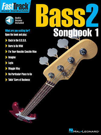 Product Cover for FastTrack Bass Songbook 1 – Level 2