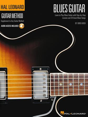 Product Cover for Hal Leonard Guitar Method – Blues Guitar