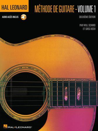Product Cover for French Edition: Hal Leonard Méthode de Guitare – Volume 1 Deuxième Edition