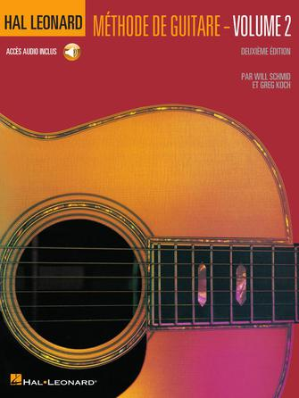Product Cover for French Edition: Hal Leonard Guitar Method Book 2 – 2nd Edition