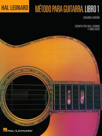 Product Cover for Spanish Edition: Hal Leonard Metodo Para Guitarra Libro 1 – Segunda Edition