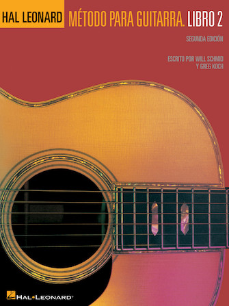 Product Cover for Spanish Edition: Hal Leonard Guitar Method Book 2 – 2nd Edition