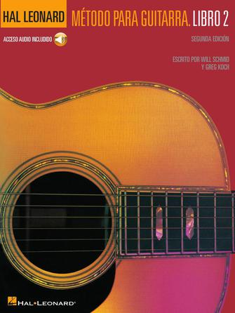 Product Cover for Spanish Edition: Hal Leonard Método Para Guitarra – Libro 2