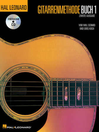 Product Cover for German Edition: Hal Leonard Gitarrenmethode Buch 1 – Zweite Ausgabe