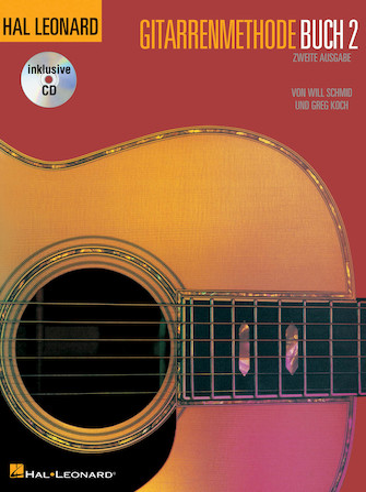 Product Cover for German Edition: Hal Leonard Gitarrenmethode Buch 2 – Zweite Ausgabe