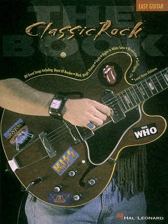 Product Cover for The Classic Rock Book