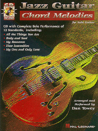 Product Cover for Jazz Guitar Chord Melodies