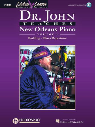 Product Cover for Dr. John Teaches New Orleans Piano – Volume 2