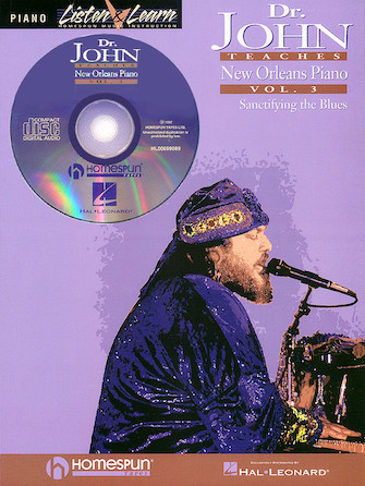 Product Cover for Dr. John Teaches New Orleans Piano – Volume 3