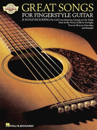 Product Cover for Great Songs for Fingerstyle Guitar