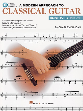 Product Cover for A Modern Approach to Classical Guitar Repertoire – Part 1