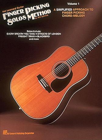 Product Cover for Hal Leonard Guitar Finger Picking Solos Method