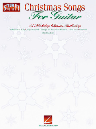 Product Cover for Christmas Songs for Guitar