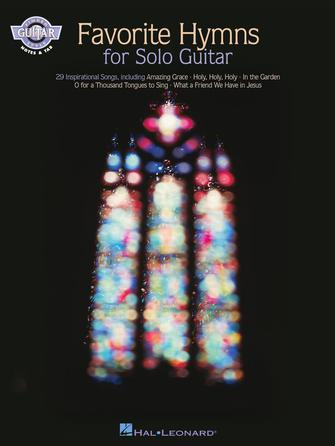 Product Cover for Favorite Hymns for Solo Guitar