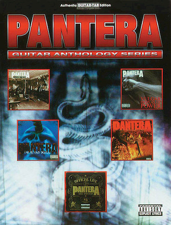Product Cover for Pantera Guitar Anthology