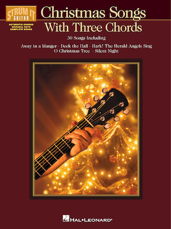 Product Cover for Christmas Songs with Three Chords