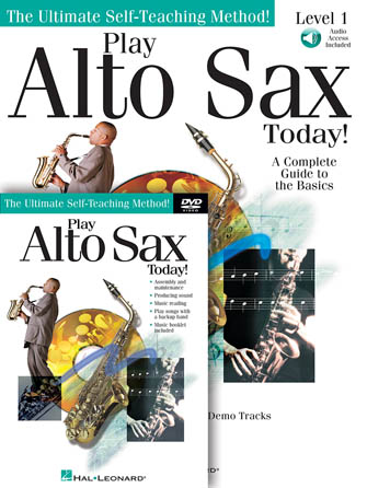 Product Cover for Play Alto Sax Today! Beginner's Pack