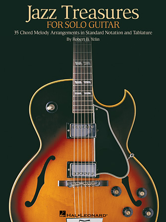 Product Cover for Jazz Treasures for Solo Guitar