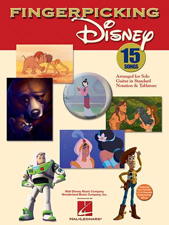 Product Cover for Fingerpicking Disney
