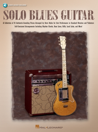 Product Cover for Solo Blues Guitar
