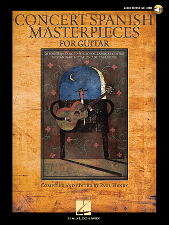 Product Cover for Concert Spanish Masterpieces for Guitar