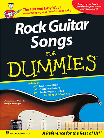 Product Cover for Rock Guitar Songs for Dummies®