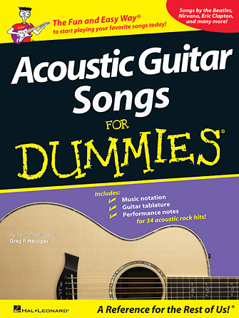 Product Cover for Acoustic Guitar Songs for Dummies
