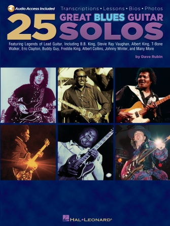 Product Cover for 25 Great Blues Guitar Solos