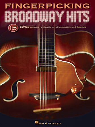Product Cover for Fingerpicking Broadway Hits