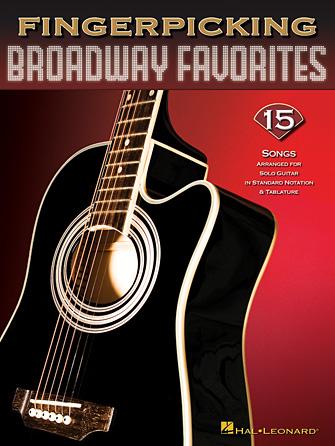 Product Cover for Fingerpicking Broadway Favorites